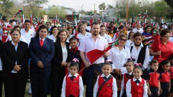 Celebran 24 de Febrero Día de la Bandera