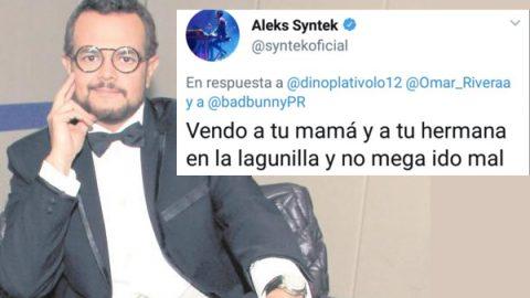 Aleks Syntek fuera de la UNICEF, por comportamiento hostil en Twitter