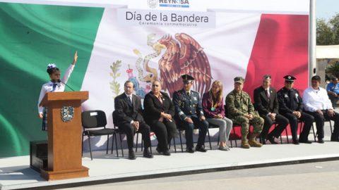 Conmemoración del 197 aniversario de la Bandera de México
