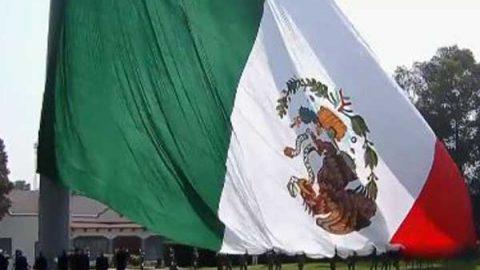 Incidentes que sufrido la bandera en el sexenio de Peña Nieto