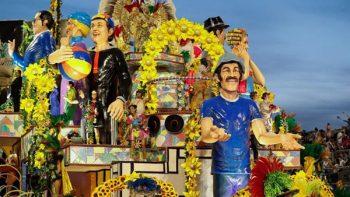 Carnaval de Río recuerda a Chespirito y a sus personajes