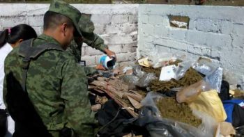 Incineran estupefacientes decomisados en San Cristóbal de las Casas
