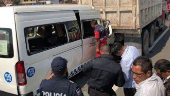 Choque en la México-Puebla deja 3 muertos y 12 lesionados