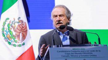 Decio de María pide 'Fair Play' en el futbol mexicano