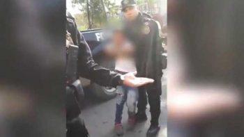 Indignación en redes por detención de niño en Nuevo León