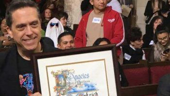 Celebran el día de 'Coco' en Los Ángeles