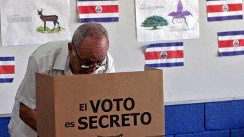 Inician elecciones presidenciales en Costa Rica