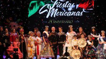 Jesús de la Garza inaugura las Fiestas Mexicanas 2018