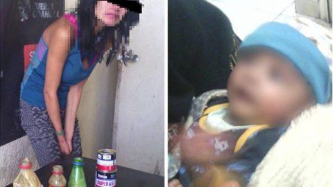 Mujer drogaba a su bebé recién nacido con 'Resistol 5000'