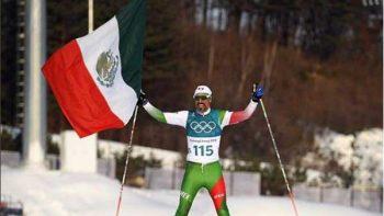 Héroe mexicano que llegó en último lugar y el público lo adoro