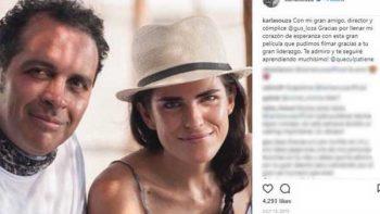 Karla Souza definía a Gustavo Loza como su amigo y cómplice