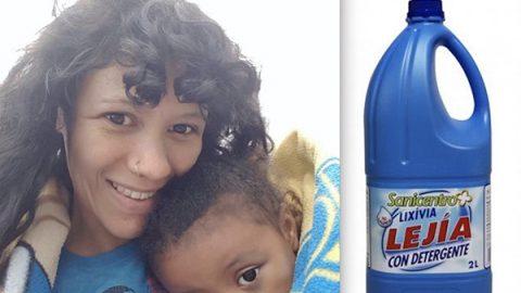 Madre da a beber lejía a su hija porque leyó en Facebook que curaba el autismo