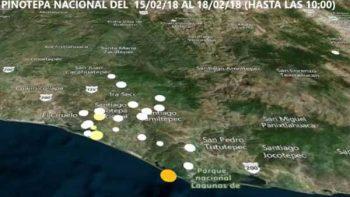 Mapa revela actividad sísmica en 30 segundos
