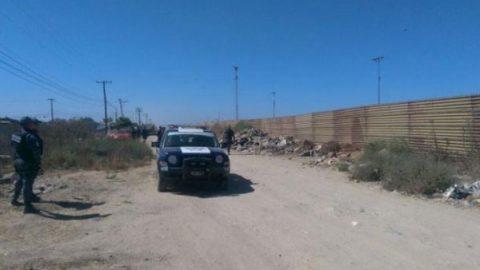 Refuerza Estados Unidos muro fronterizo con México; comienzan en Calexico