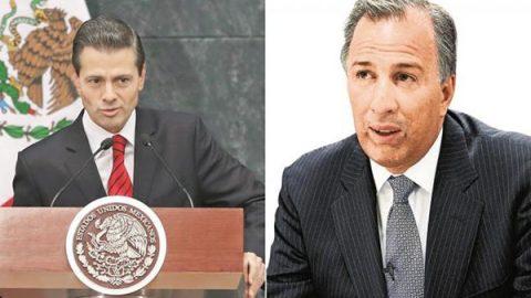 Resuelve Tribunal que ni Peña Nieto ni Meade violaron ley por cambios