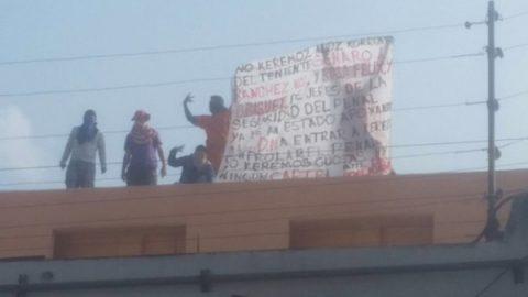 Protestan reos en los penales del Topo Chico y Apodaca