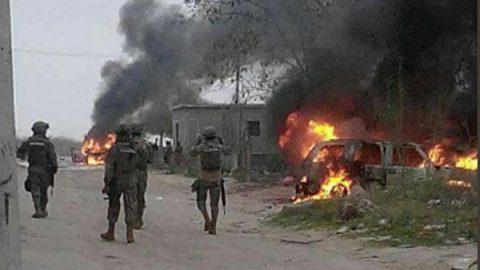 Otro violento amanecer en Reynosa; reportan peligro en varios sectores