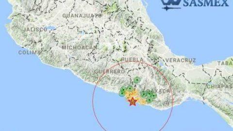 Reportan sismo de 5 grados en Pinotepa Nacional, Oaxaca