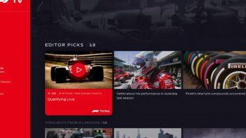 Fórmula 1 lanza Streaming para la próxima temporada