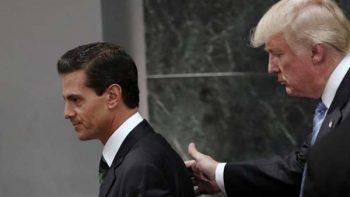 Piden hacer pública agenda sobre reunión de Peña Nieto y Trump