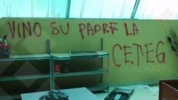 Maestros de la CETEG vandalizan oficinas del SNTE en Guerrero