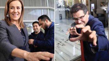 Zavala y Ríos Piter descartan declinación para candidatura única