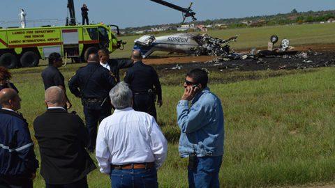 Avionetazo en Laredo deja dos muertos