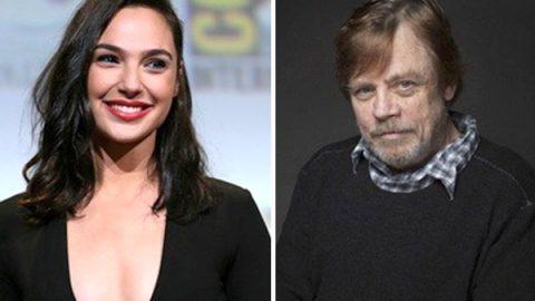 'Luke Skywalker' conoce a 'La Mujer Maravilla'