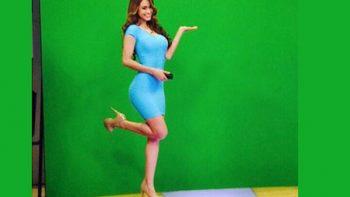 Yanet García será 'la chica del clima' en el programa 'Hoy'
