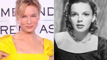 Divulgan primera imagen de Renée como Judy Garland