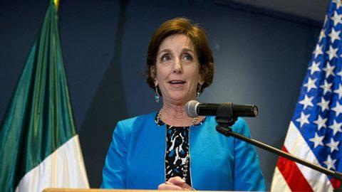 Roberta Jacobson renuncia a la embajada de EU en México