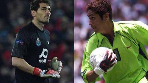 Jorge Campos, inspiración para Iker Casillas en vestimenta de portero