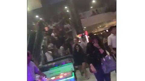 Desalojan Cinépolis Galerías por culpa de bromistas (VIDEO)