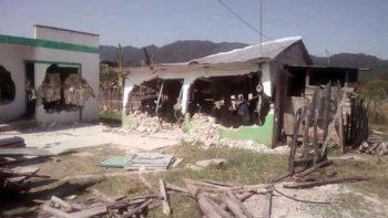 Destruyen viviendas de evangélicos en Chiapas