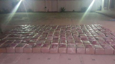 Aseguran 2.2 toneladas de marihuana en Zacatecas