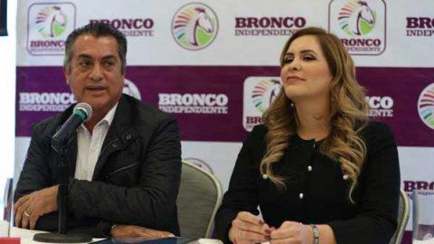 Equipo de 'El Bronco' inicia en el INE revisión de firmas