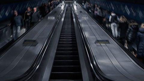La escalera que tuitea en tiempo real