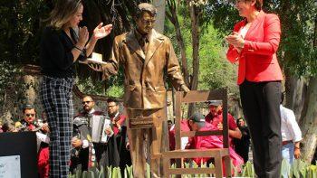 Cantinflas ya tiene su estatua en Tequisquiapan