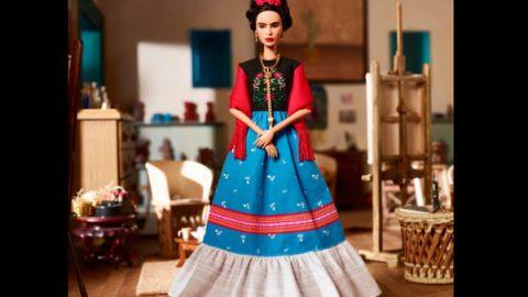 Mattel lanza Barbie de Frida Kahlo y Lorena Ochoa en colección de heroínas