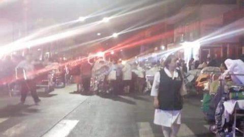 Reportan incendio en clínica del IMSS en Veracruz