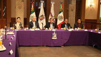 Se reúne Gobernador con líderes sindicales de Nuevo León
