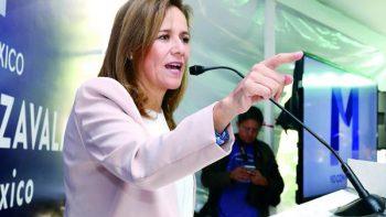 'Mi candidatura es legal y legítima', afirma dice Margarita Zavala