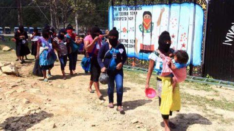 Acciones del movimiento zapatista reúnen a mujeres de 40 países