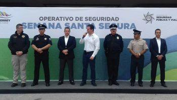 Implementa municipio de Monterrey programa Semana Santa Segura