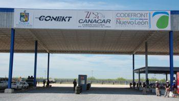 Inauguran parador para transporte de carga en Puente Fronterizo Colombia