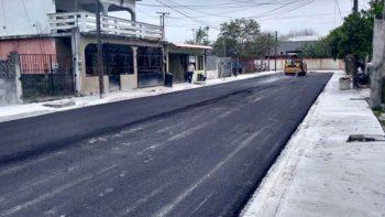 Pavimentación de calles mejoran movilidad urbana de Matamoros