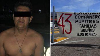 Dictan formal prisión contra implicado en desaparición de los 43