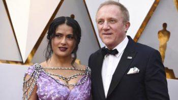 El vestido de Salma Hayek en los Premios Oscar 2018