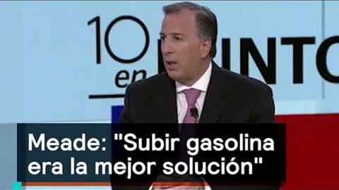 Acusan a Meade de ser el 'padre del gasolinazo'