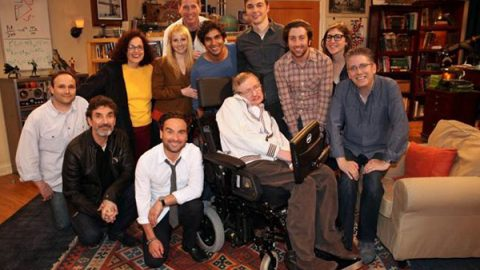 El día que Stephen Hawking salió en 'The Big Bang Theory'